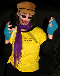 Because you'll miss me: Beatniq Zombie Poet Valerie